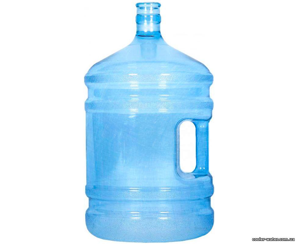 Бутыль для воды б/у 19 л поликарбонат