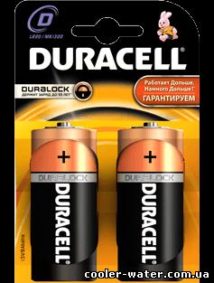 Пример батареек типа D.